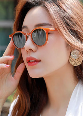 Cat-Eye Tinted Sunglasses, Styleonme
