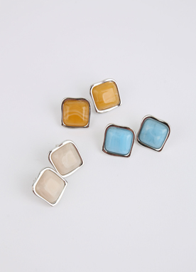 Color Squared Earrings, Styleonme
