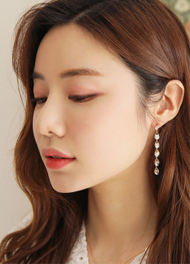 Waterdrop Cubic Earrings, Styleonme