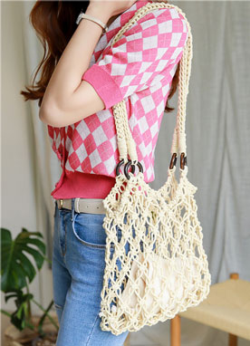 Summer Net Shoulder Bag, Styleonme