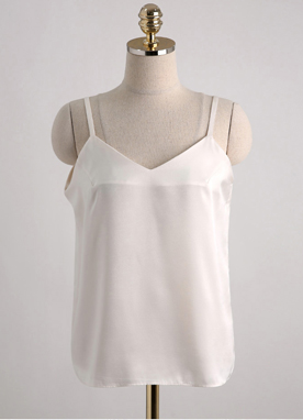 Silky Camisole Top, Styleonme