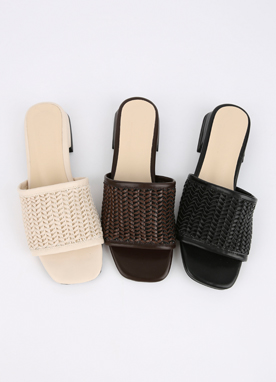 Summer Rattan Mules, Styleonme