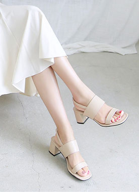 Classic Strap Sandals, Styleonme