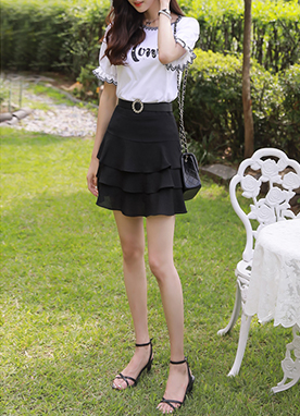 Three Tiered Skort, Styleonme