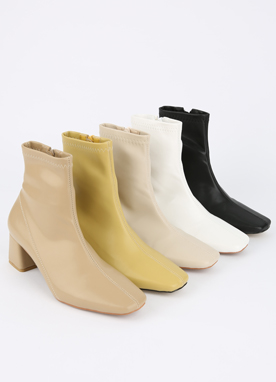 Slim Ankle Boots, Styleonme