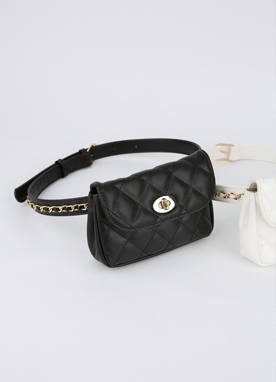 Quited Belt Bag, Styleonme