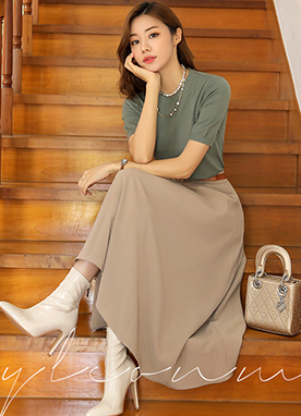 5Colors Basic Knit Top, Styleonme