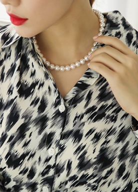 Boutique Pearl Necklace, Styleonme