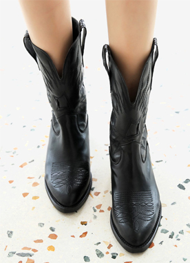 4Colors Western Style Boots, Styleonme
