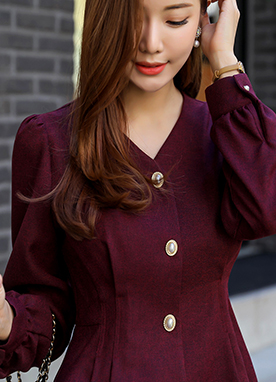 Perfect Silhouette Pintuck Blouse, Styleonme