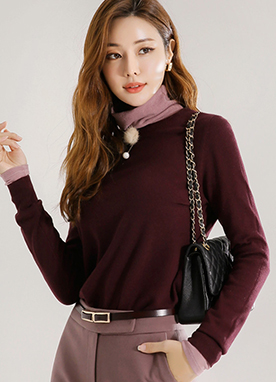 Essential Round Neck Sweater, Styleonme