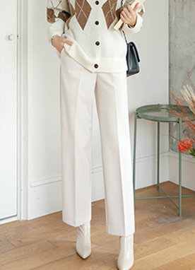 Warm Tailored Trousers, Styleonme