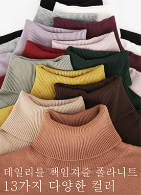 Basic Timeless Roll neck Jumper, Styleonme
