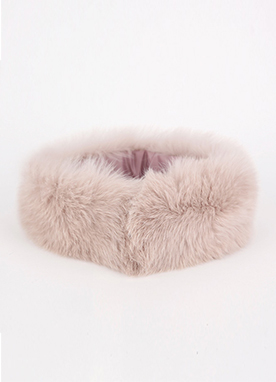 8Color Fox Fur Short Scarf, Styleonme
