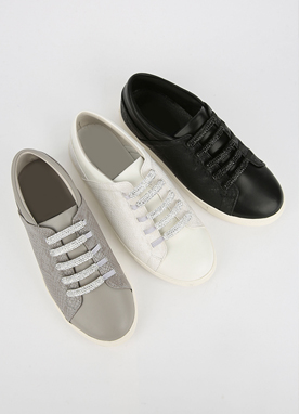 Silver Cubic Sneakers, Styleonme