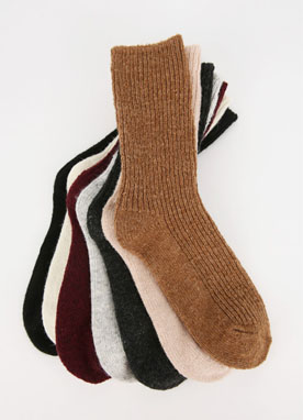 Long Ribbed Socks, Styleonme