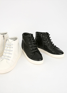 Glitter Shine High top Trainers, Styleonme