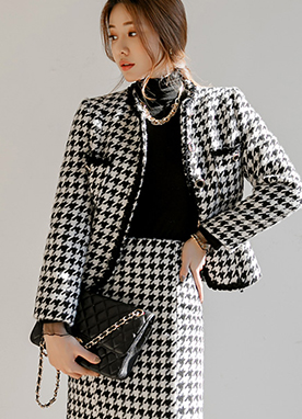 Hound Check Kelly Short Jacket, Styleonme