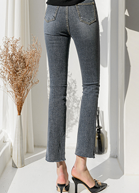 Freddo Perfect Line Bootcut Gray Jeans, Styleonme