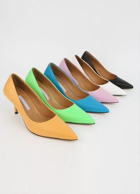 6 Color Pointed Stiletto Heels, Styleonme