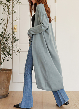 Natural Mood Long Cardigan, Styleonme