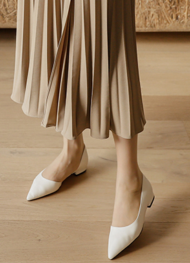 Simple Pointed Ballet Flats, Styleonme