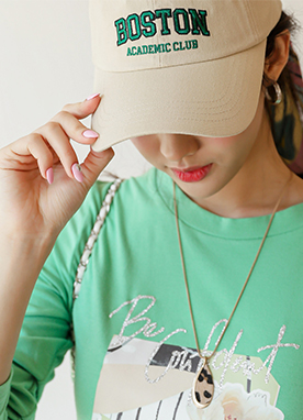 Boston Baseball Cap, Styleonme