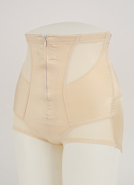 High Waist Zip Up Shapewear, Styleonme