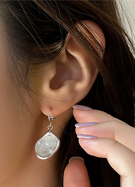Glass Stone Earrings, Styleonme