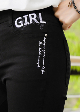 Lovely Girl Bootcut Cotton Pants, Styleonme
